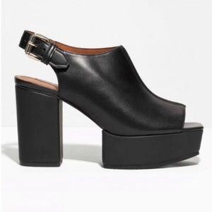 & Other Stories Platform Mules